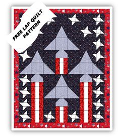 (7) Name: 'Quilting : Veterans quilt pattern Blessed Jets