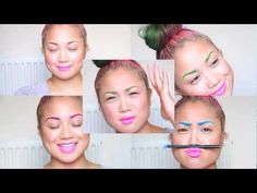Coloured brows ... it's that easy peasy? #tutorial
