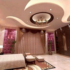 Simple and Modern Tricks: False Ceiling Window contemporary false ceiling house.False Ceiling Lights Modern false ceiling bedroom tips.False Ceiling Living Room L Shape. Gypsum Design, Gypsum Ceiling Design, House Ceiling Design, Ceiling Design Living Room, Bedroom False Ceiling Design, False Ceiling Living Room, Bedroom Ceiling, Ceiling Decor, Living Room Designs