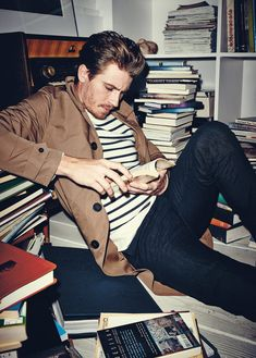 Garrett Hedlund - yummy to begin with... But then he goes and picks up a book... I just lost all ability to person...