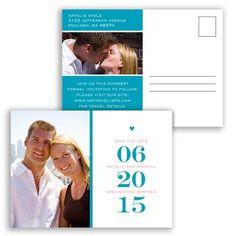 Stand Out Photo - Malibu - Save the Date Postcard