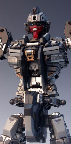 - Painted Build Modeled by RedBrick Gunpla Custom, Custom Gundam, Transformers, Japanese Robot, Strike Gundam, Robot Design, Mechanical Design, Gundam Model, Machine Design
