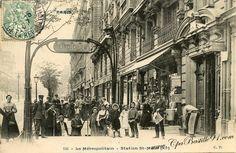 le Métropolitain -Station St Maur (XIe)