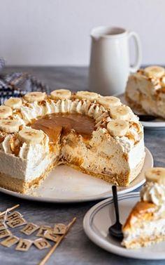 Cake Recipes, Dessert Recipes, Macarons, Polish Recipes, Polish Food, Banoffee, Lemon Curd, Pavlova, Food Cakes