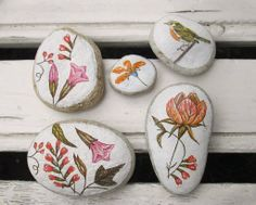 Little Decoupaged Stones Made by: Our House Decoupage Studio Follow us on facebook: https://www.facebook.com/ourhousedecoration Studio Adress: Bulgaria, Plovdiv, Kapana, 6 Hristo Dyukmedjiev Str.