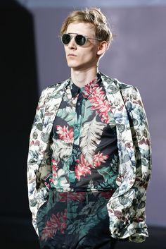 Dries Van Noten Spring 2014 Menswear #print #floral