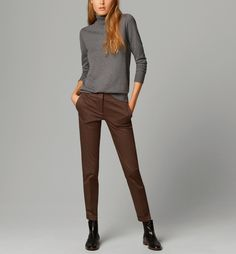 TROUSERS WITH POCKET DETAIL | Massimo Dutti