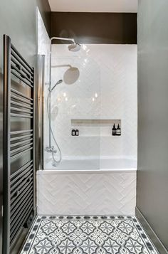 43 Splendid Bathroom Ideas With Detail Designs. If you have decided to decorate your bathroom, then try an artistic approach. Imagine everything that will surround you in a bathroom, everything that w. Laundry In Bathroom, Bathroom Makeover, Bathroom Countertops, Shower Room, Modern Bathroom, Amazing Bathrooms, Bathrooms Remodel, Bathroom Design, Tile Bathroom