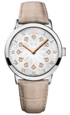 Double 8 Origin beige 35mm #quartz watch by 88 Rue Du Rhone