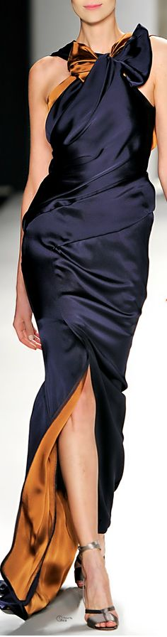 Carolina Herrera ● Fall 2014 fabulous colour combo & style !