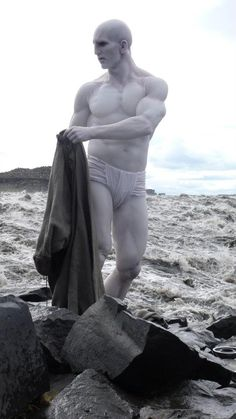 """First Look at the """"Elder Engineer"""" and More Behind The Scenes Photos - Prometheus Movie News"""