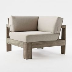 Build Your Own Portside Sectional - Weathered Gray #westelm
