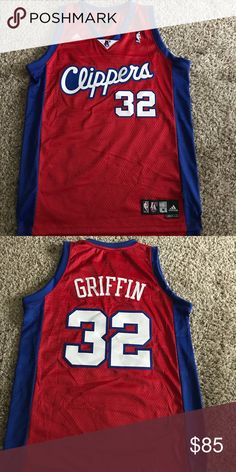 NBA Los Angeles Clippers Blake Griffin jersey. NBA Los Angeles Clippers Blake Griffin jersey. adidas Shirts