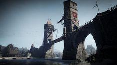 Video Game The Witcher 3: Wild Hunt  The Witcher Bridge Oxenfurt Wallpaper