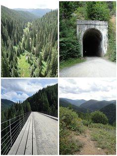 Hiawatha Bike Trail near Spokane, WA.  If you are in the area, this is a must do!