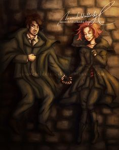 Remus and Tonks. R.I.P When they died i was shattered. It didn't make any sense. YOU ALREADY KILLED FRED, JO! THEM, TOO?