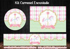 Kit Carrossel Encantado