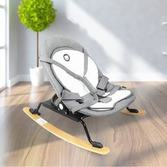 Automatic baby swing bouncer baby sleep cradle bed shaking chair bed #foldingchair #swingchair #babybouncer #babyrocker #babyswingchair