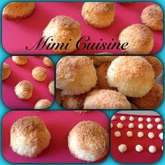 Boules de Coco - Mimi Cuisine