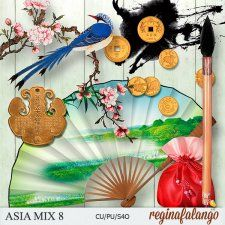 ASIA MIX 8 #CUdigitals cudigitals.com cu commercial digital scrap #digiscrap scrapbook graphics