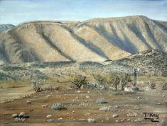 Oil on canvas. 23 x 30 cm