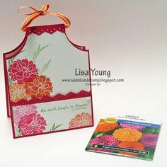 April Card W/ Pocket