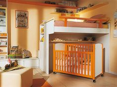 Fresh Stunning Cheerful Kids Bedroom Design Idea with Attractive Arrangement