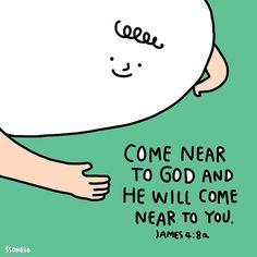 하나님을 가까이하라 그리하면 너희를 가까이 하시리라. 약4:8a  #bible #bibleillust #lettering #handlettering #gospel #goodnews #drawing #daily #everydaybible #amen #grace #God #Jesus #illust #illustrations #일러스트 #성경 #예수님 #하나님 #말씀 #아멘 #교회 #믿음 #크리스천 #굿뉴스드로잉 #goodnewsdrawing #문구디자인 #일러스트 #팬시 #fancy #ssongso