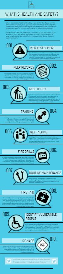 flick's guide to 'what is health and safety' #infographic