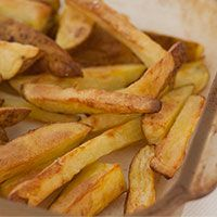Healthier Oven Baked Fries