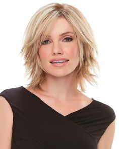 Jon Renau Top Form Human Hair Hairpiece, 31 26 Bright Gold Blonde 26 blended with Dark Brown Red 31 - Stile di capelli Short Hairstyles For Women, Diy Hairstyles, Medium Hair Styles, Short Hair Styles, Bobs For Thin Hair, Gold Blonde, Jon Renau, Hair Toppers, Remy Human Hair