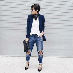 Casual Stylish Business Outfit for the Ladies Mode Outfits, Chic Outfits, Fall Outfits, Fashion Outfits, Womens Fashion, Fashion Trends, Black Outfits, Fashion Clothes, Fashion News