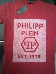 PHILIPP PLEIN MAN T-SHIRT SIZE M COOL SUMMER COLOR #Unbranded #VNeck