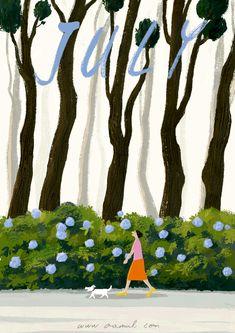 Oamul e as ilustrações e gifs mais lindos da internet Art Prints, Illustrations And Posters, Seasons Art, Wallpaper, Art Drawings, Drawings, Illustration Art, Art Inspiration, Cute Illustration