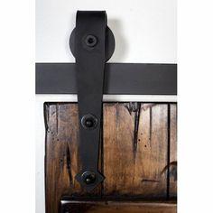 hahaemall set de riel de 15 m y soportes hechos de acero para puerta