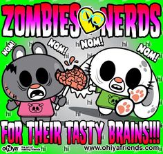 zombies love brains :)