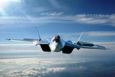 Sukhoi PAK-FA. Beautiful sleek design...