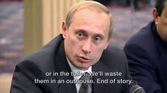 Les chiottes by Vladimir Poutine sur les terroristes! Vladimir Poutine, Documentaries, Politics, Youtube, Russia, News, Youtubers, Youtube Movies