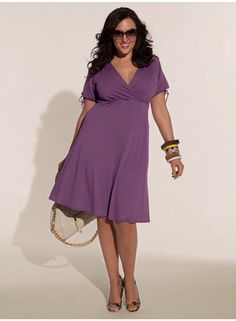 Angie Dress in Lilac.  I think I like this one better in pink but I have too many pink dresses as it is.