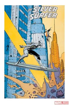 Silver Surfer poster by Moebius