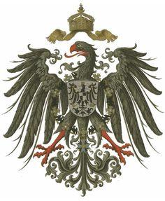 Wappen des Deutschen Kaiserreich, 1888-1918  Coat of Arms of The (Second) German Empire, 1888-1918