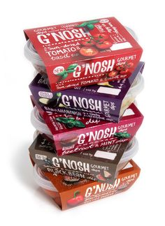 We're loving the delicious flavours of G'NOSH.