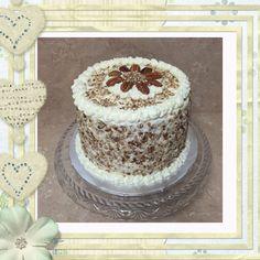 """3 Layer 8"""" Italian Creme Cake"""