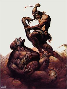 (1976) Tarzan, Lord of the Jungle  Boris Vallejo