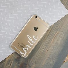 Clear TPU Case Cover - Smile – Milkyway
