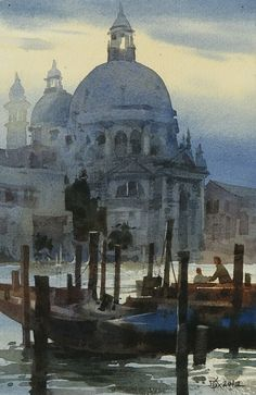 My watercolor in Venice (since 2009 ~ 2014) By Chien Chung Wei