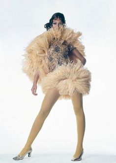 Marisa Berenson in Yves Saint Laurent photographed by Irving Penn for Vogue US 1967 via www.fashionedbylove.co.uk british fashion blog