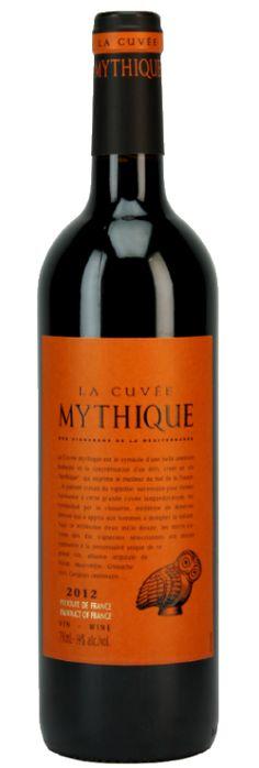 Vign. Méditerranée / Gr. Val Orbieu  - La Cuvée Mythique vin de pays d'Oc - Code SAQ:488726