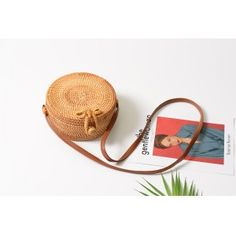 The RINA Balinese Bag is perfect and unique for an every day use and grabbing your daily tools in it. Store your phone and small accessories in. Round Straw Bag, Round Bag, Rattan, Wicker, Toy Storage Bags, Crossbody Bag, Satchel, Types Of Bag, Saddle Bags