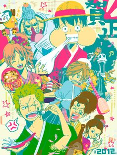 Straw Hat Crew Pirates Mugiwaras Luffy Zoro Nami Usopp Sanji Chopper Robin Franky Brook One Piece